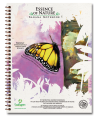 Monarch Butterfly Eco Friendly Banana Paper Notebook (8.5 x 11)