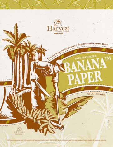 Tree-free Banana Paper 8.5 x 11 Note Pad