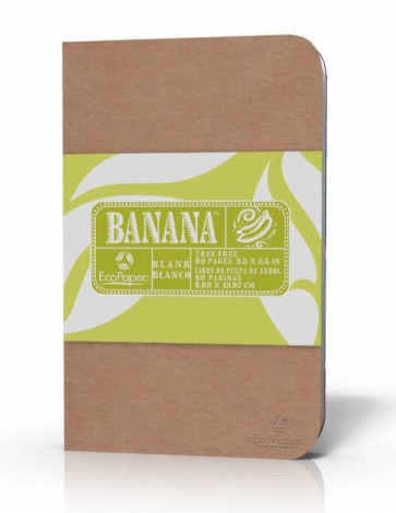 Banana Paper Leaf Claro Tree Free Banana Paper Journal Notebook