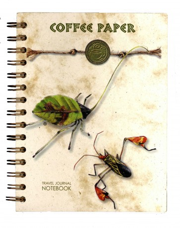 Coffee Paper Journal - Notebook