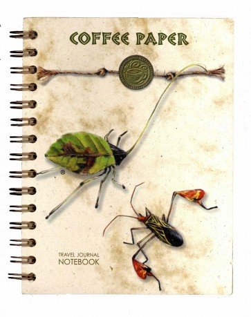 Coffee Paper Journal - Notebook