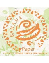 Banana Cover Stock Organic Tree Free Natural Paper 11 x 17