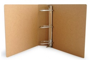 Post Consumer 3 Ring Binder 1 in. Spine