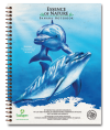 Bottlenose Dolphin Eco Friendly Banana Paper Notebook (8.5 x 11)